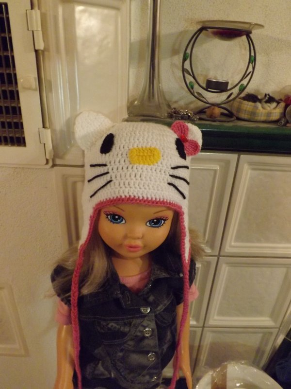 tuque hello kitty