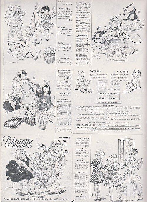 Madame la poupée Bleuette   - 1982  -