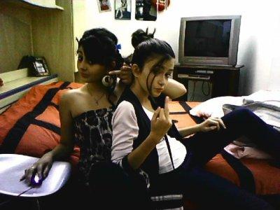 CYNTHIA & MOI   <3