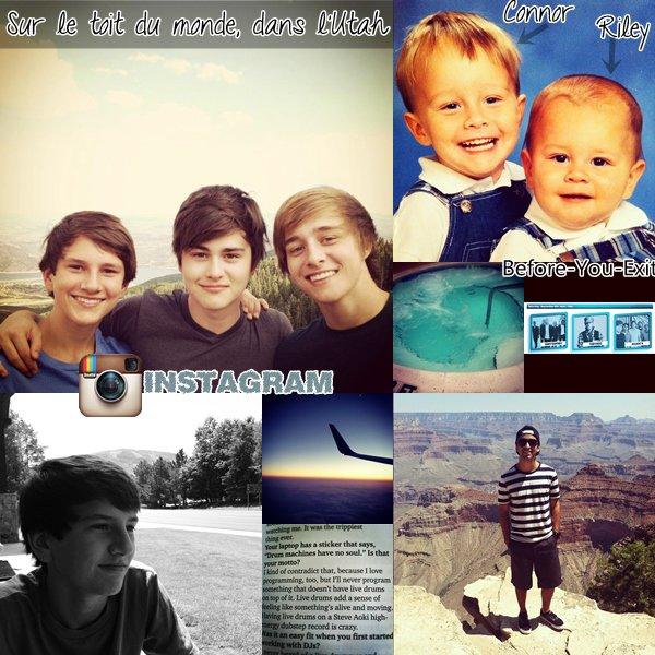 Le groupe nous a posté de nouvelles photos sur leur Instagram et Facebook.