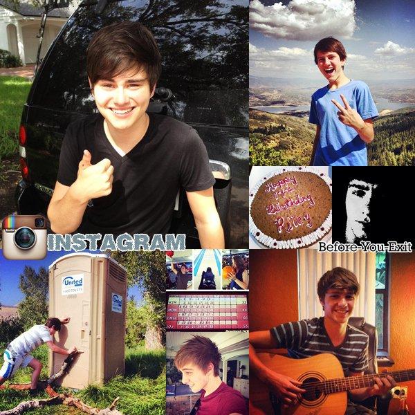 Hier c'était l'anniversaire de Riley, il a fêté ses 17ans. Le groupe nous a aussi poster des photos personnelles