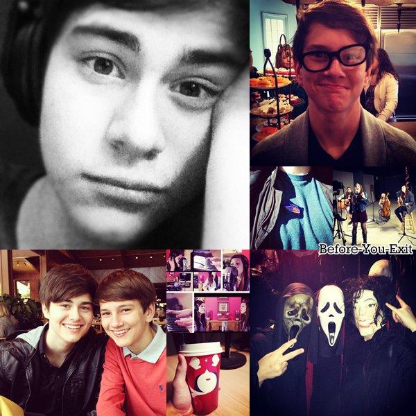 De nouvelles photos ont étaient postées sur leurs Instagram. Découvre deux anciens photoshoot et des Twitcam.