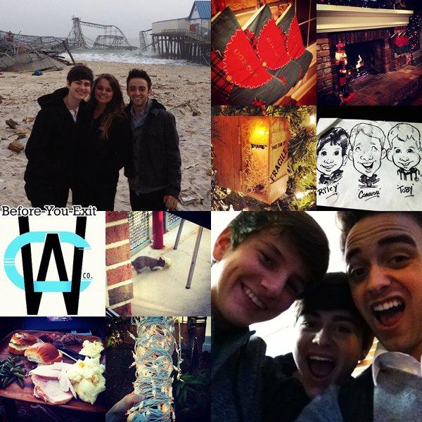 Nouvelles photos postées sur leurs comptes Instagram. Deux nouveaux photoshoots ont étaient réalisé.