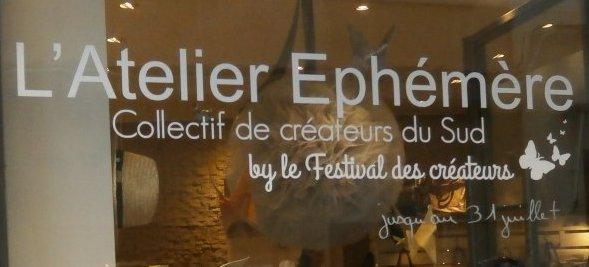 Atelier Ephémère  4, rue Paul Bert Aix en Provence