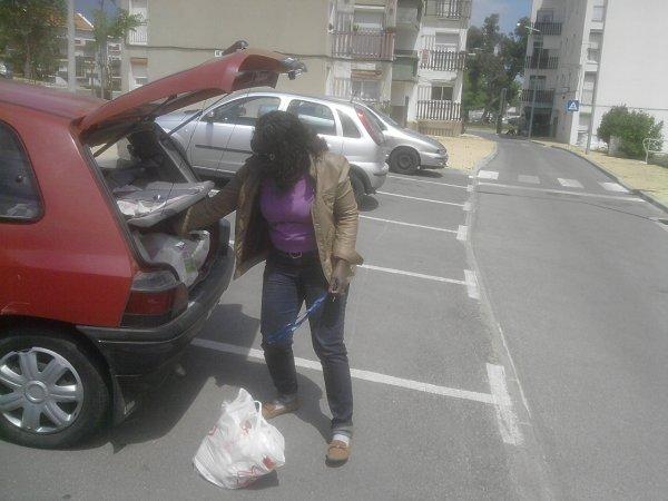 Festa do 1º de Maio na Zona 4 - a compra dos materiais