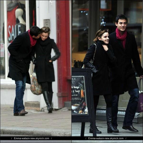 04/01/12 - C'est officiel Emma a un nouveau petit ami !  Elle à était vue en sa compagnie , alors vous en pensez quoi ?