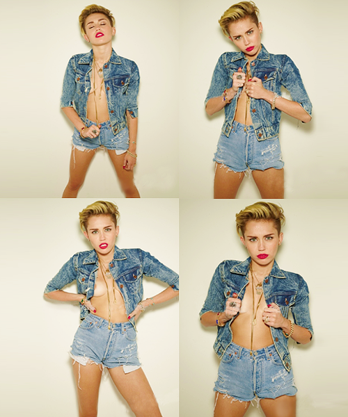 Miley Photoshop !