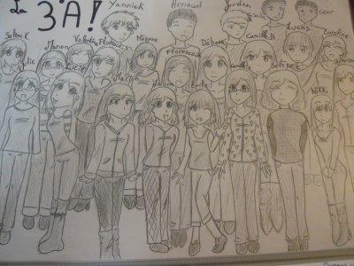 Ma classe de 3ème par moi ... ^^