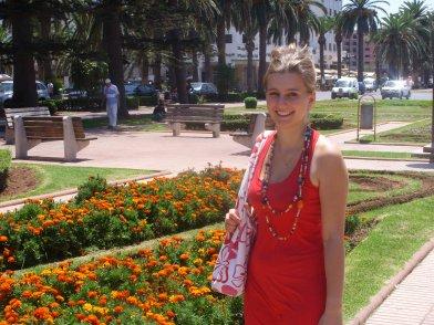 Mathilde au Maroc!