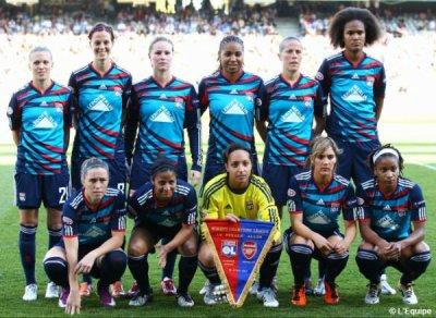 Equipe féminine lyonnaise