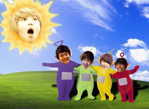 Shinee t l tubbies - Soleil teletubbies ...