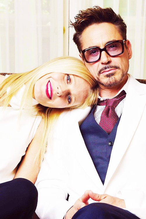 ♦_Robert Dooney JR and Gwinneth Paltrow.