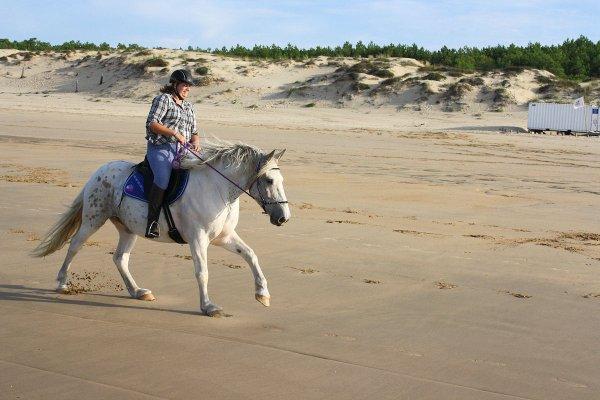 Apache a la plage et ce coup si en Side pull !!