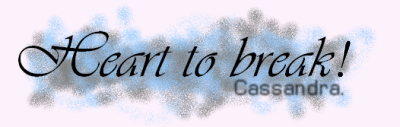 ● Petit coeur devrait apprendre a se méfier .. !