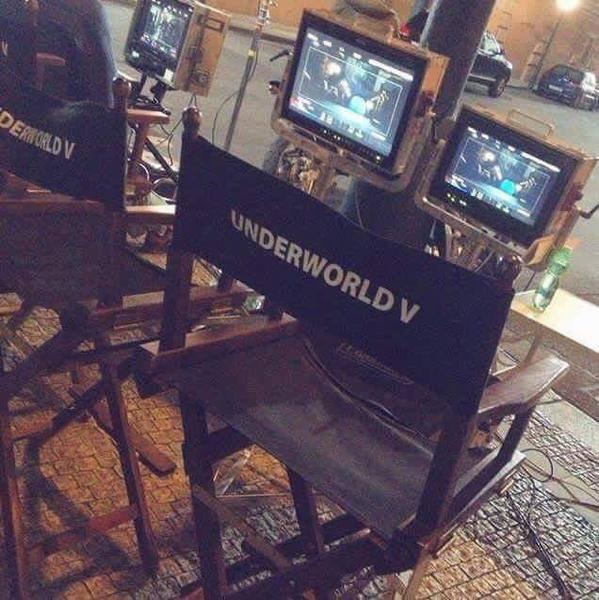 Le tournage d'Underworld 5