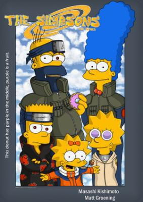 Naruto version : Les Simpsons