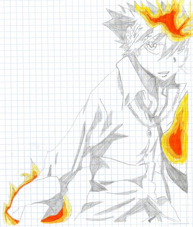 Reborn : Fan art : Tsunayoshi