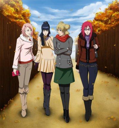Naruto : Girl Date
