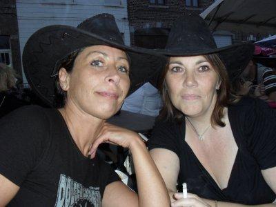 moi et nancy ... ma meilleur amie depuis 19 ans