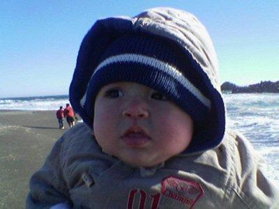 mi hermanito joven