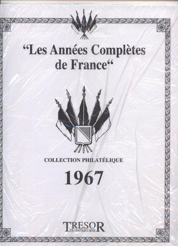 feuilles de rangement France année 1967/ Neuves encore sous emballage/ Faire offre