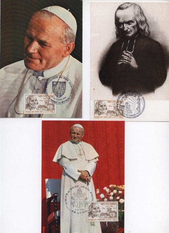 CP Jean Paul II  neuve / A echanger : au detail / Faire offre .