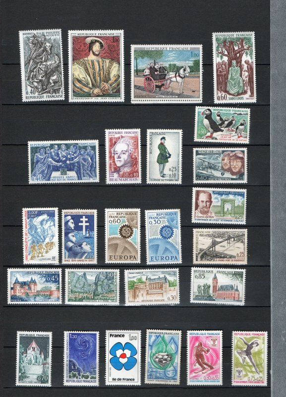 Timbres neufs - France 1