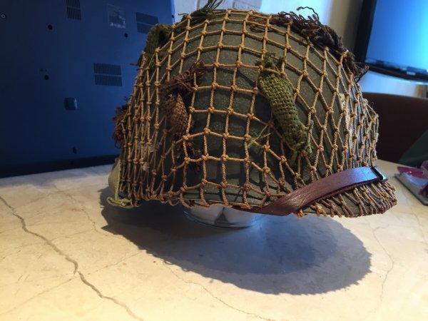 Vieillissement du casque de Lieutenant de la 506th