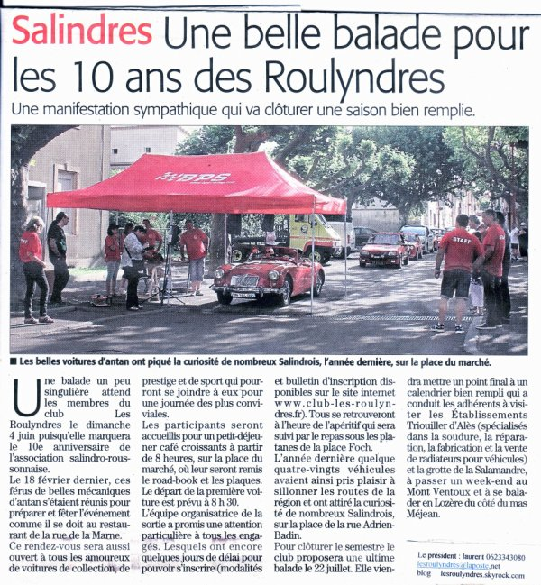29 mai 2017 article Midi Libre