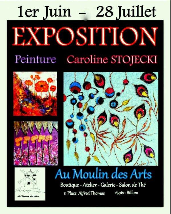 """Exposition Billom """"Au Moulin des Arts"""""""
