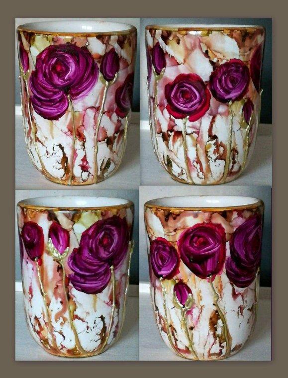 Pot céramique décoratif