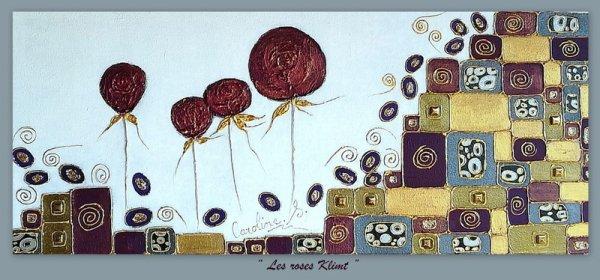 """"""" Les roses Klimt"""""""