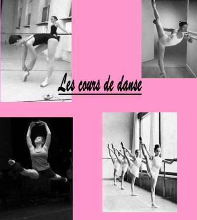 Les cours de danse