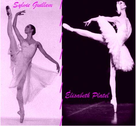 Deux grandes danseuses