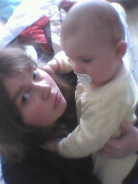le bébé de sa marraine