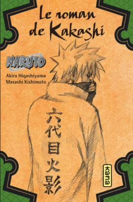 Les romans Naruto