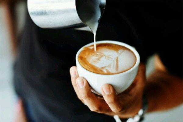 En cette période un bon cappuccino