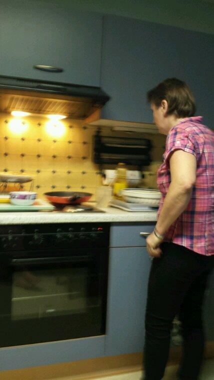 Ma femme en mode crêpes sans gluten hé bien un délice