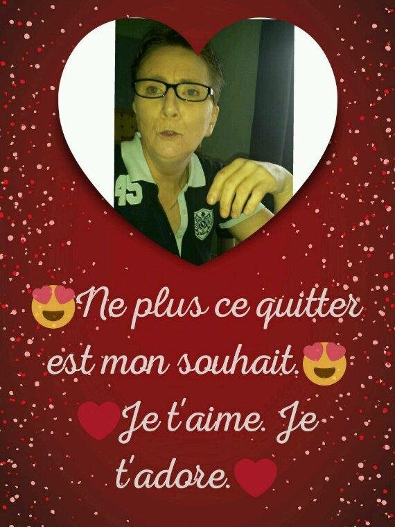 Bonne et heureuse Saint Valentin à ma femme  ??????❤? Je t'aime?❤??????