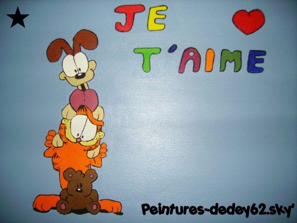Odi, Garfield et son Nounours