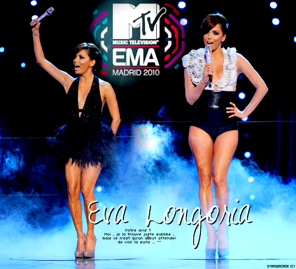 • • EVA LONGORIA ;MTV Music Awards.