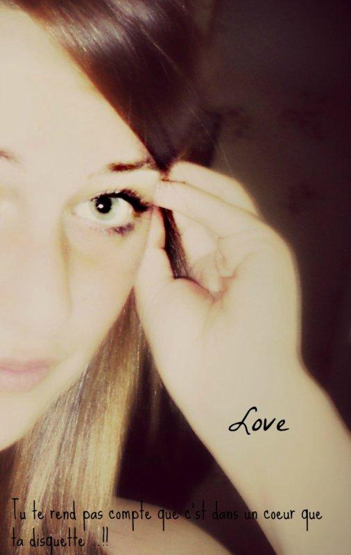 # Tu te rend pas compte que c'st dans un coeur que ta disquette..!!