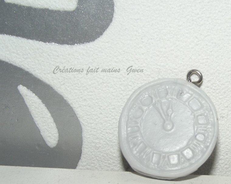 L'horloge chiffres romains