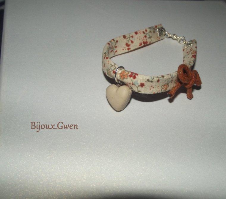 NOUVEAUTE | Bracelet Liberty, coeur