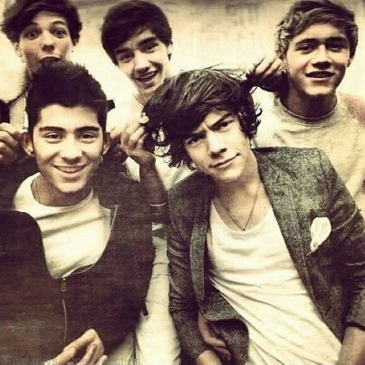 Mes One Direction.