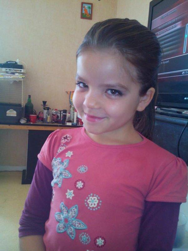 ma fille cassandra 9 ans