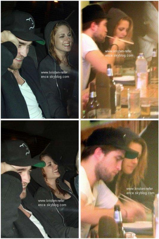 .                                                                                                                                                                                                                      10 Octobre 2010 - Kristen et Robert en voiture dans Beverly Hills puis dans un restaurant à Matsuhisa                                                                                                                                    .                                                                                                                                                            Sa tenue TOP ou FLOP ?                                                                                                                                                                                                                   .