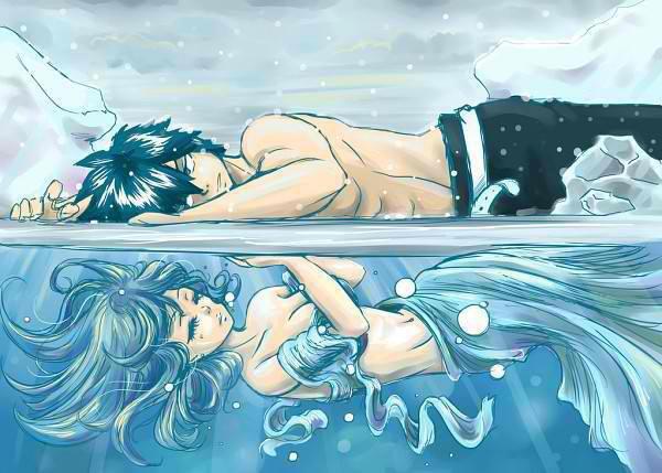 One Shot : L'eau et la glace, un destin, un grand amour.