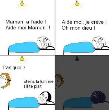 Une question de vie ou de mort!