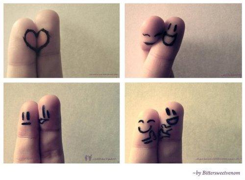 les vrais amis se comptent sur les 5 doigts de la main et encore ...